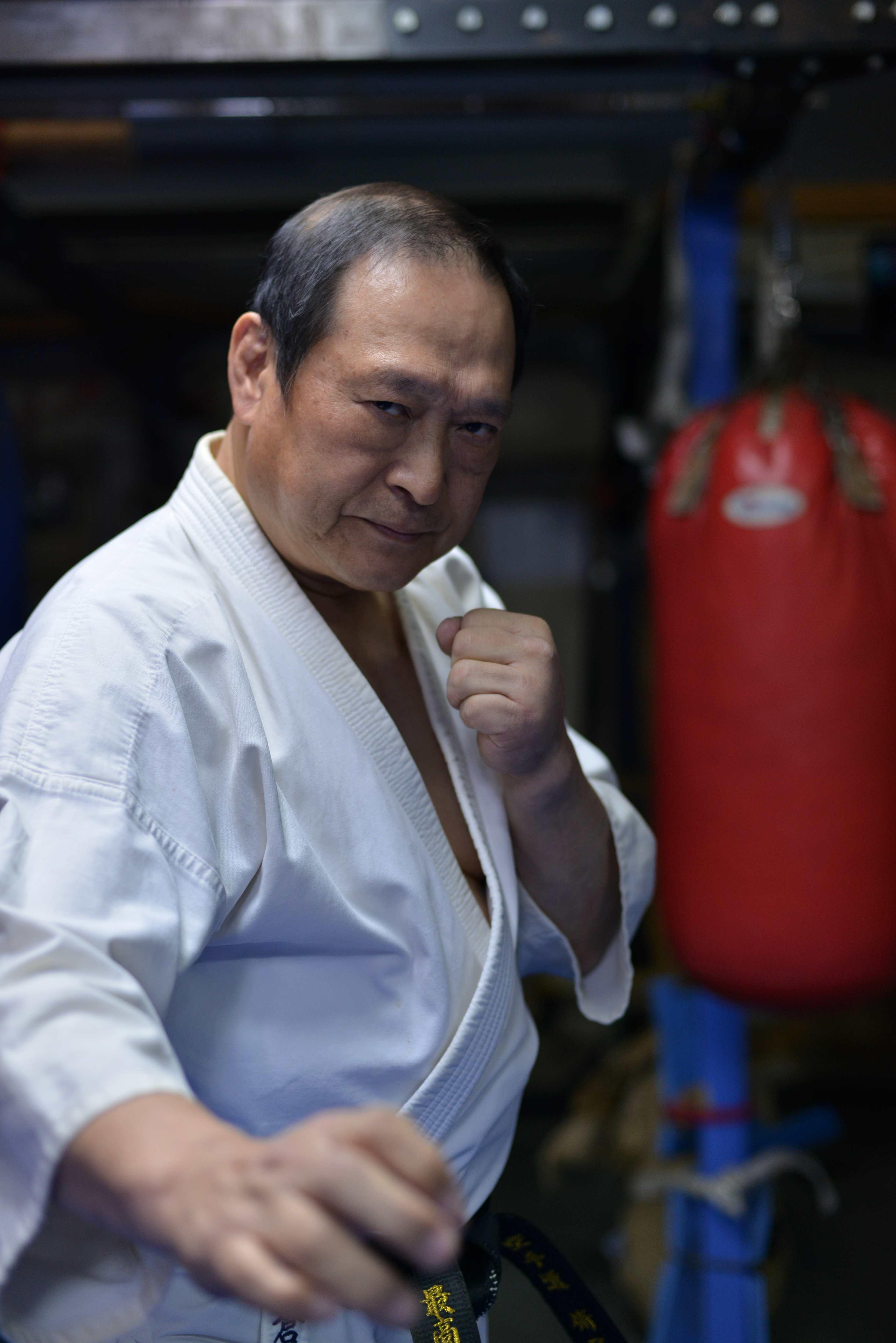 武術界の生ける伝説、倉本塾塾長・倉本成春