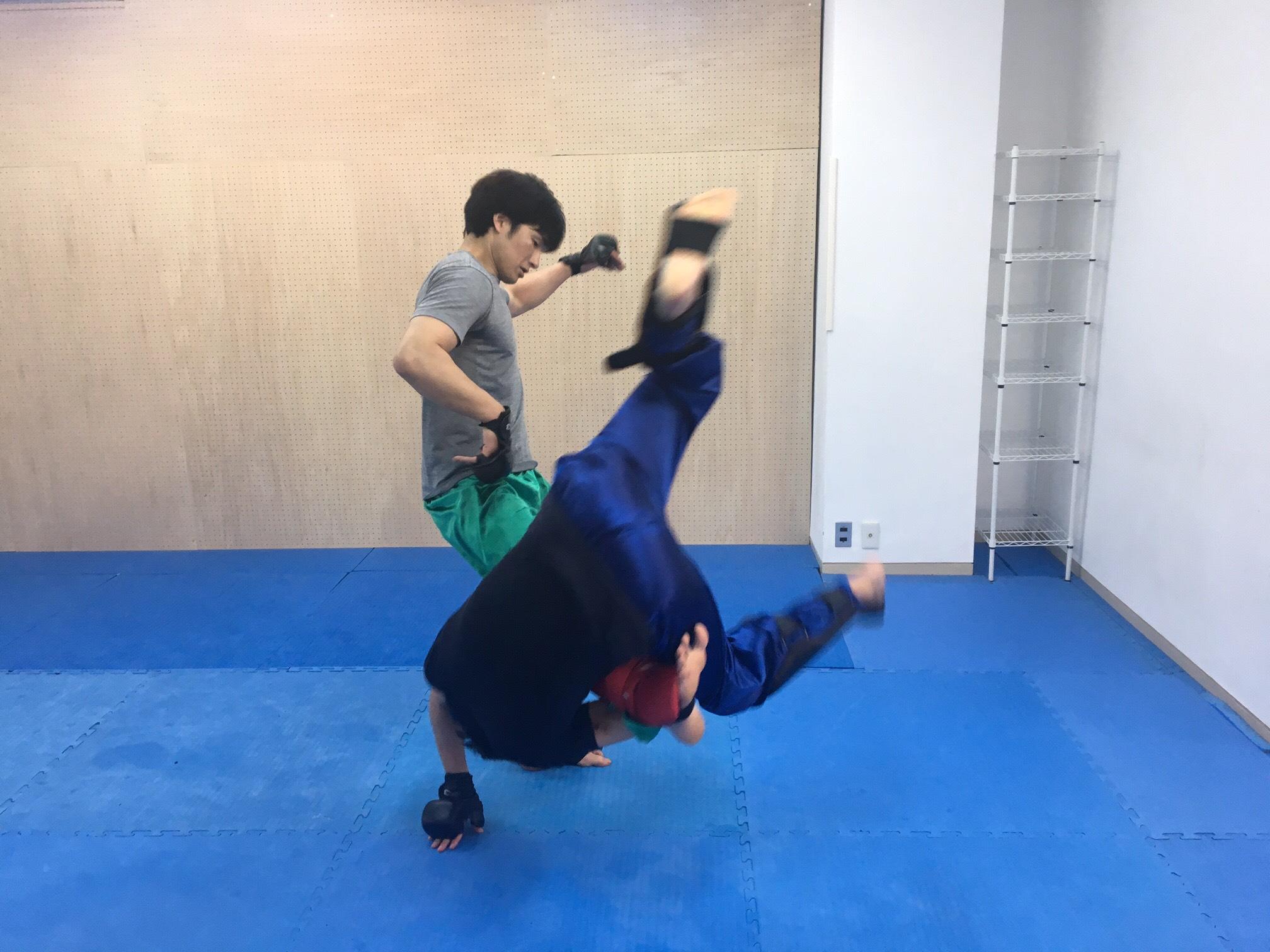 瀬戸先生との酔拳技の応酬。これが出たら凄いぞ。